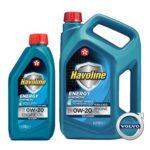 Texaco HAVOLINE ENERGY 0W-20 (Volvo)